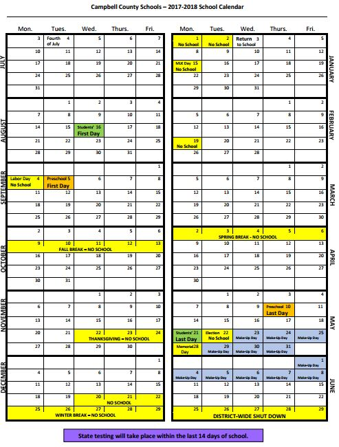 17-18 parent calendar- table view